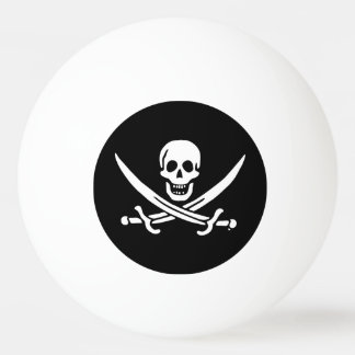 海賊旗の海賊旗 卓球ボール