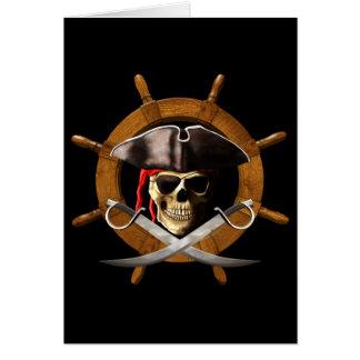 海賊旗の海賊車輪 カード