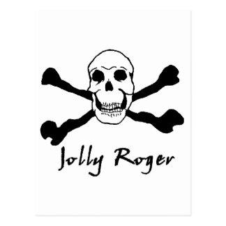 海賊旗01 ポストカード