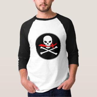 海賊旗(カットラス)のTシャツ Tシャツ