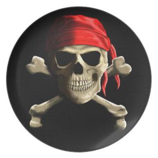 海賊旗 プレート
