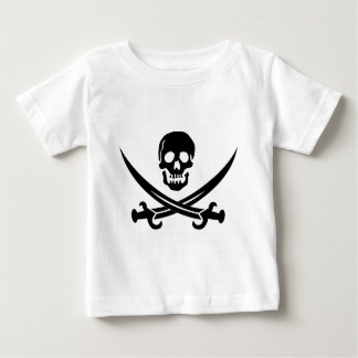 海賊旗 ベビーTシャツ