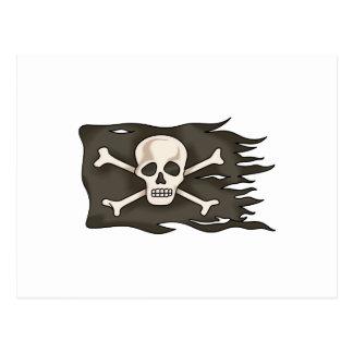 海賊旗 ポストカード