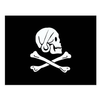 海賊旗-海賊旗 ポストカード