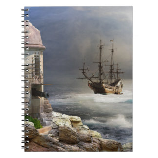 海賊湾のノート ノートブック