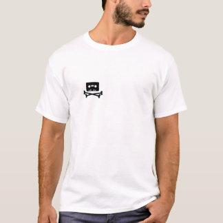 海賊湾のロゴの背部 Tシャツ