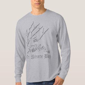 海賊湾のロゴ Tシャツ