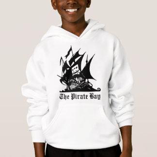 海賊湾の海賊船のロゴ