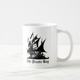海賊湾の海賊船のロゴ コーヒーマグカップ