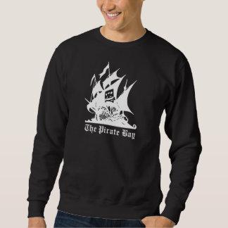 海賊湾の海賊船のロゴ スウェットシャツ