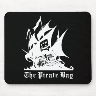 海賊湾の海賊船のロゴ マウスパッド