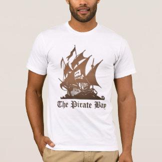 海賊湾-元のロゴ Tシャツ