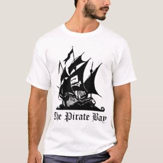 海賊湾(白い) Tシャツ