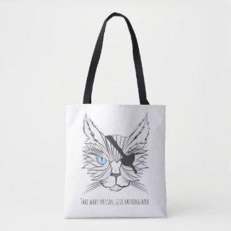 海賊猫ファンの芸術#1 トートバッグ
