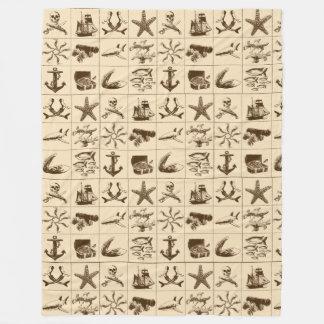 海賊生命Blanket_1 フリースブランケット