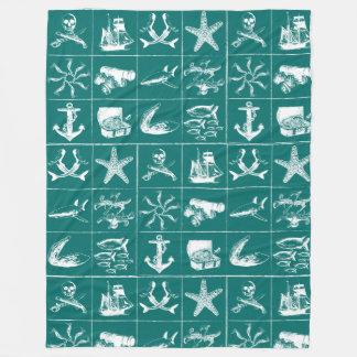 海賊生命Blanket_5 フリースブランケット