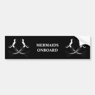 海賊生命mermaids_3 バンパーステッカー