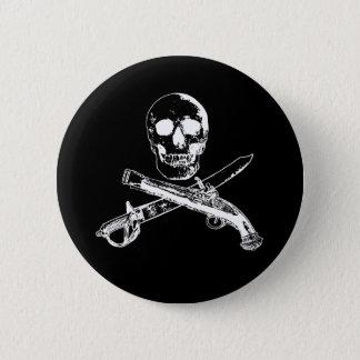 海賊生命SkullButton_2 5.7cm 丸型バッジ