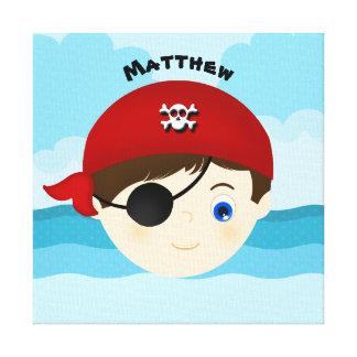 海賊男の子 キャンバスプリント