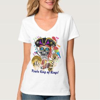 海賊禁制品の女性すべてのスタイルライト Tシャツ
