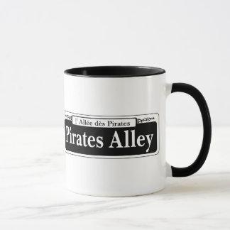 海賊細道、ニュー・オーリンズの道路標識 マグカップ