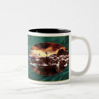 海賊船のマグ ツートーンマグカップ
