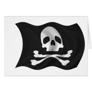 海賊船の旗 カード
