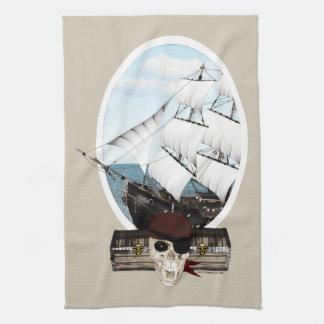 海賊船 キッチンタオル