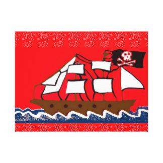海賊船 キャンバスプリント