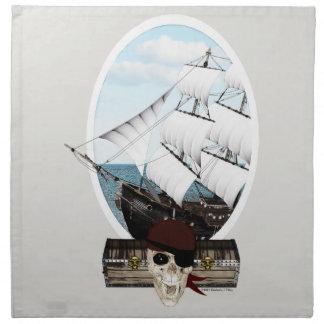 海賊船 ナプキンクロス
