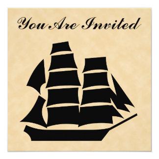 海賊船。 帆船 カード