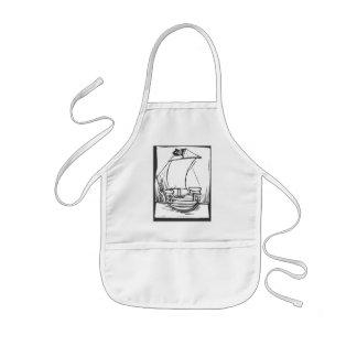 海賊船#2 子供用エプロン