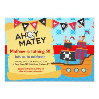 海賊誕生会、Ahoy Matey カード