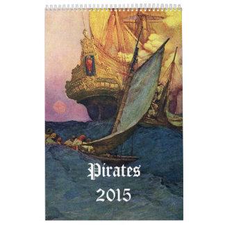 海賊2015年 カレンダー