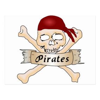 海賊 ポストカード