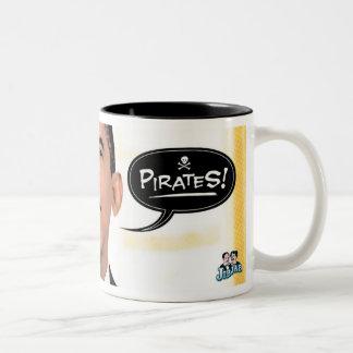 海賊-マグ ツートーンマグカップ