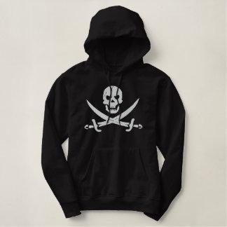海賊 刺繍入りパーカ