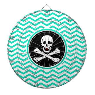 海賊; 水緑のシェブロン ダーツボード