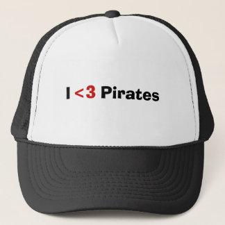 海賊、<3、I キャップ
