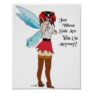 海賊Faeryのプリント ポスター
