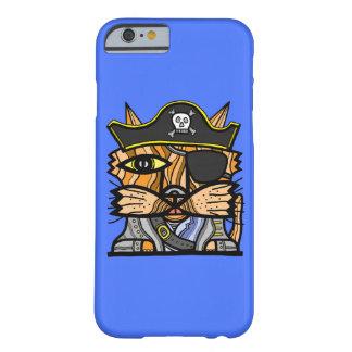 """""""海賊Kat""""光沢のある電話箱 Barely There iPhone 6 ケース"""