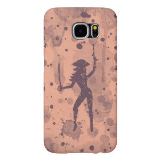 海賊Samsungの女性の銀河系S6、やっとそこに場合 Samsung Galaxy S6 ケース