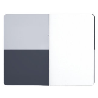 海軍および灰色の長方形 ポケットジャーナル