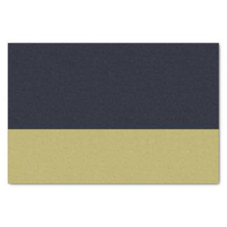 海軍および金ゴールド10lbのティッシュペーパー 薄葉紙