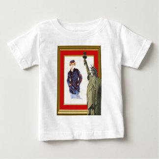 海軍に加わって下さい ベビーTシャツ