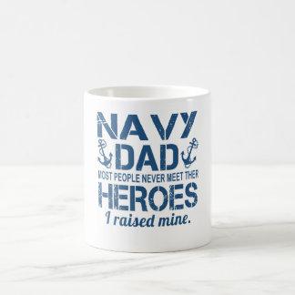 海軍のパパ コーヒーマグカップ