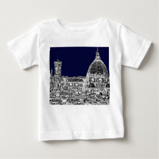 海軍カテドラルフィレンツェ ベビーTシャツ