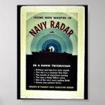 海軍レーダー ポスター