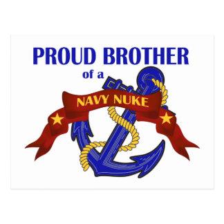 海軍原子力の兄弟 ポストカード