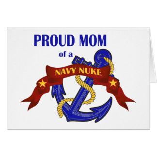 海軍原子力の誇り高いお母さん カード